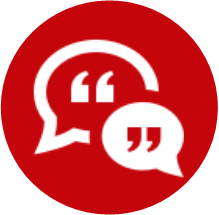 Icon which redirects to Feedback and Evaluation. You can also click on the caption below.